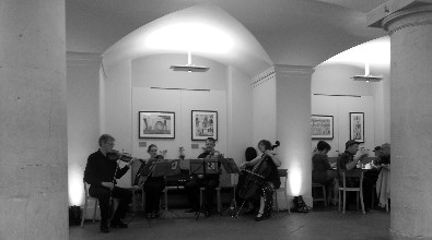 The Cotswold Ensemble's Tango Quartet for hire.