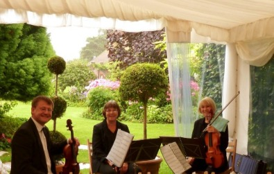 Cotswold Ensemble String Quartet, wedding music, Parley Manor, New Forest, Hampshire