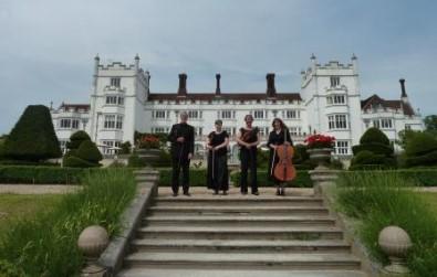 Cotswold Ensemble String Quartet at Danesfield, near Marlow, Bucks