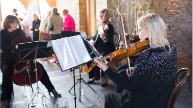 The Cotswold Ensemble: winter celebration near Bibury, Gloucestershire