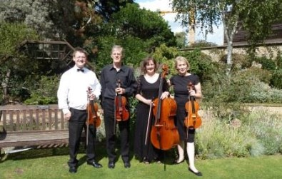Cotswold Ensemble String Quartet reception music at Green Templeton College, Oxford