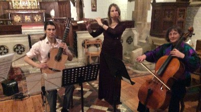 Tango Trio for concerts and parties - Oxford, Cotswolds & surrounding counties.