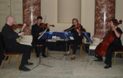 Cotswold Ensemble String Quartet wedding music at Stowe School, Buckingham